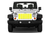 Jeep grille insert - yellow