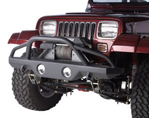 Rampage Bumper, Front Recovery Bumper with Stinger ('76-'06 Wrangler CJ, YJ, TJ)