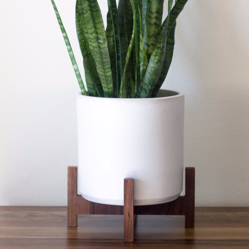 Modern Planter With Plant Stand Small Object Modern