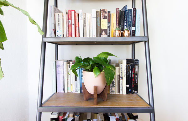 Modern Planter with Plant Stand - Tiny Bell - Object Modern