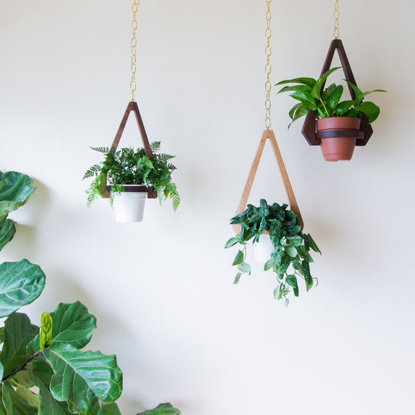 Geo Hanging Planter - Object Modern