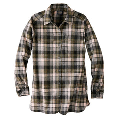 Women's Board ShirtGreen/Pink Surf Plaid