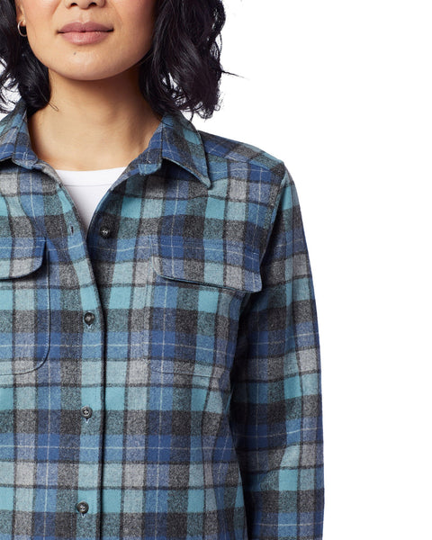 Women's Board Shirt <br> Blue Original Surf