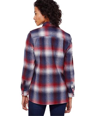 Women's Board Shirt <br> Red/BlueOmbré