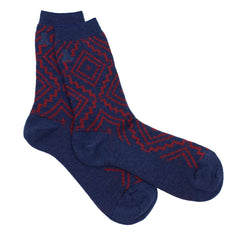 Sunset Cross Crew Socks