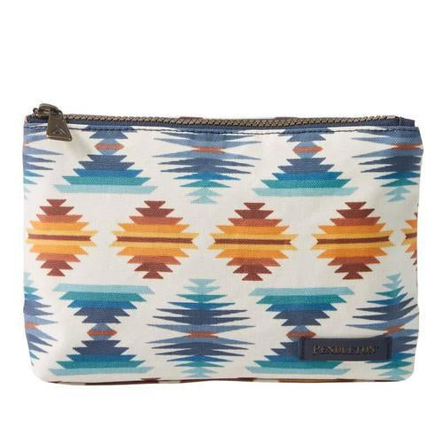 Canopy Canvas Zip Pouch<br>Falcon Cove Sunset
