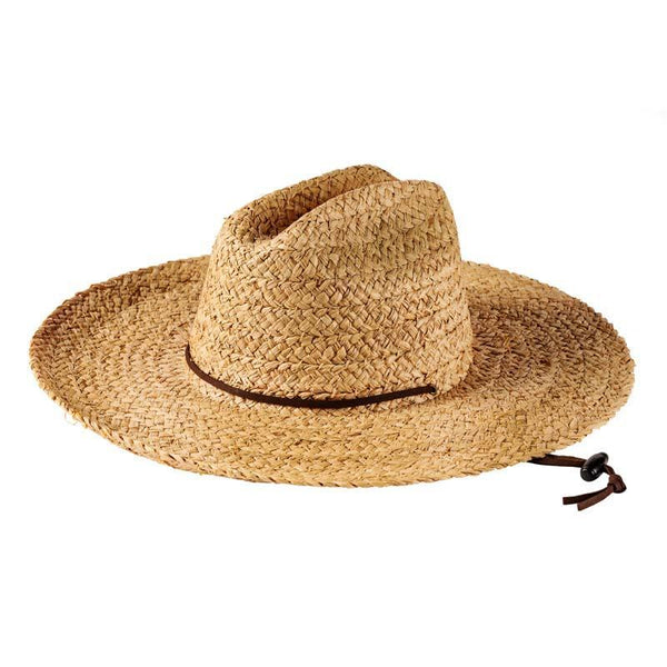 Lifeguard Raffia Hat <br> Natural