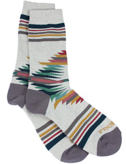 Falcon Cove Crew Socks  Oatmeal