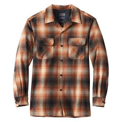Board Shirt  Pumpkin/Brown Ombre