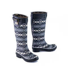 Heritage Print Tall Rubber Boot <br> Papago Park
