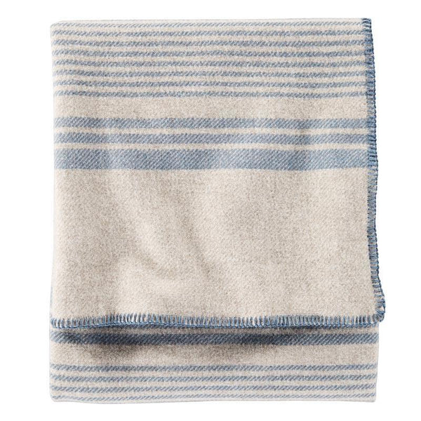 Eco-Wise Blanket <br> Irving Stripe Taupe