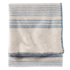 Eco-Wise Blanket  Irving Stripe Taupe
