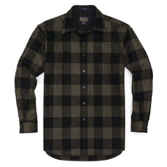 Olive Black Buffalo Check