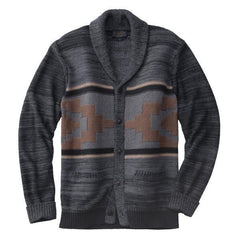 Broken Top Shawl Collar Cardigan  Diamond Desert Grey