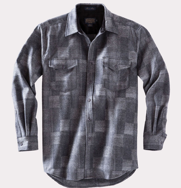 Fitted Boro Shirt <br> Boro Grey
