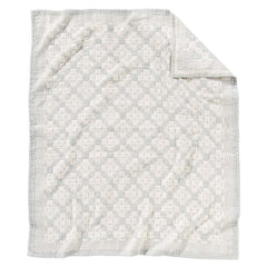 Cotton Matelasse Blanket  Chief Joseph Slate