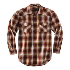 Frontier Shirt  Bronze Plaid