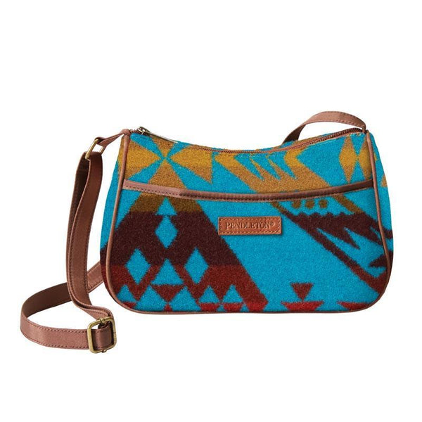 Jacquard Crossbody Bag<br>Diamond Peak