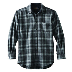 Lodge Shirt  Black/Grey Mix Plaid