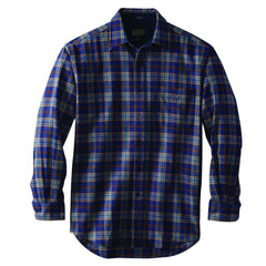 Lodge Shirt  Blue Plaid