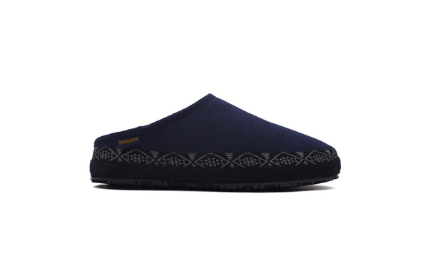 Men's Porch Mule Slippers <br> Navy