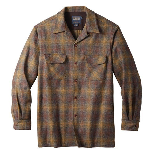 Fitted Board Shirt <br> Bronze/Oxford Ombré