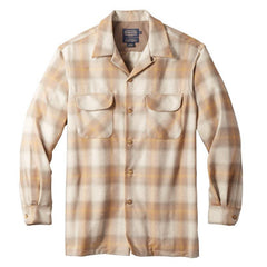 Fitted Board Shirt  Tan & Gold Ombré