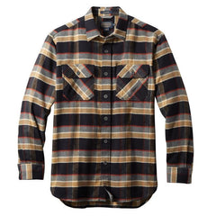 Super Soft Burnside Flannel Shirt  Black/Grey/Red Plaid
