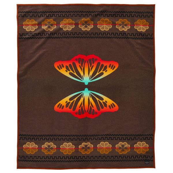 Sitting Bull's Butterfly Blanket