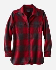 Women's Board Shirt  Red/Black Buffalo Check