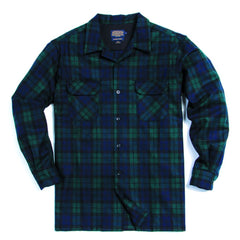 Tall Board Shirt  Black Watch Tartan