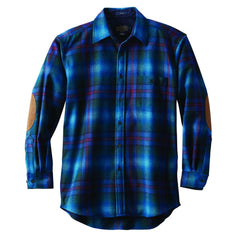 Long Sleeve Trail Shirt  Blue Ombre