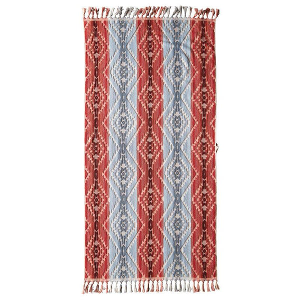 Pagosa Springs Spa Towel with Fringe <br> Desert Sky