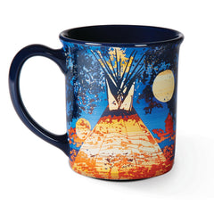 Full Moon Lodge Coffee Mug