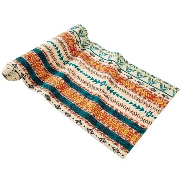 Bright Mesa Table Runner <br> Ivory