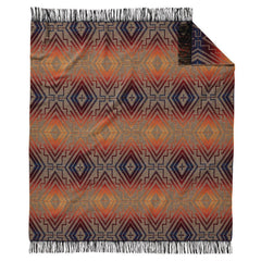 Chimayo Throw  Sunset Cross