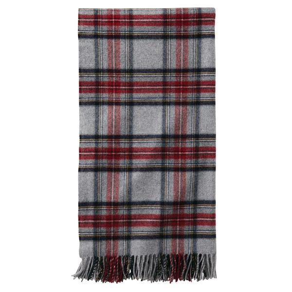 5th Avenue Throw <br> Grey Stewart Plaid