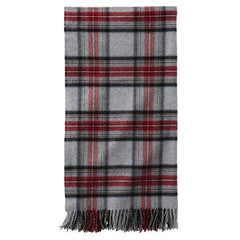 5th Avenue Throw  Grey Stewart Plaid