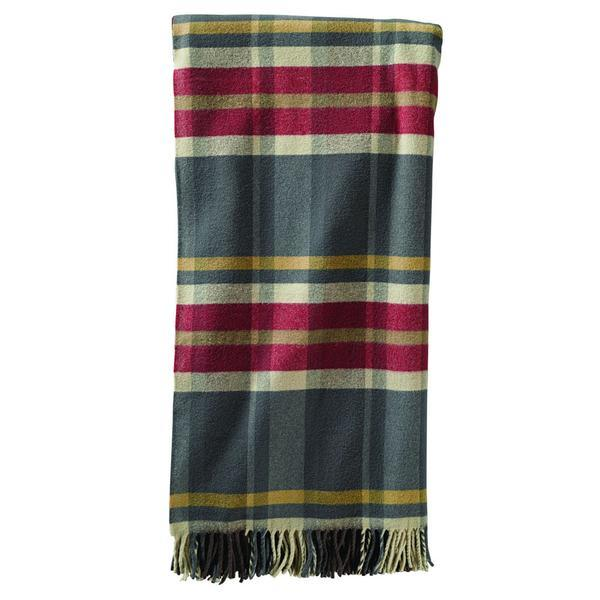 5th Avenue Throw <br> Breslin Plaid