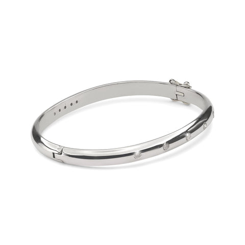DIAMONDS, The 5 diamond Bangle