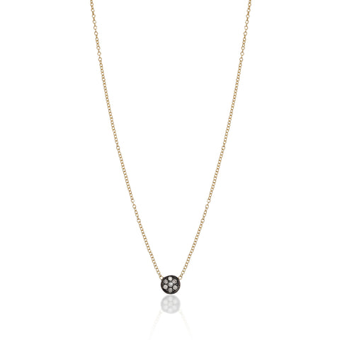 CIRCLE LINE, Tiny Circle Necklace