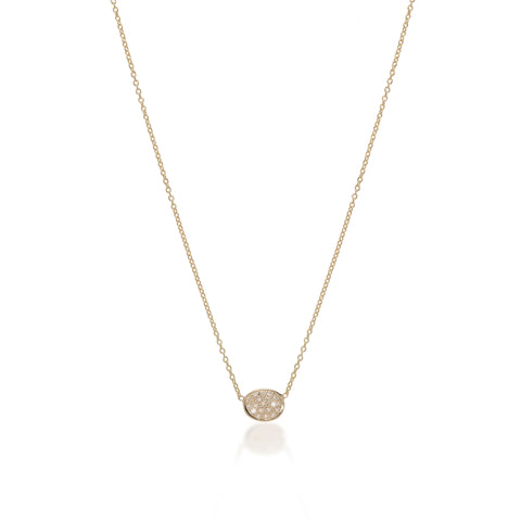 SUPER ELLIPSE, Small Ellipse Necklace
