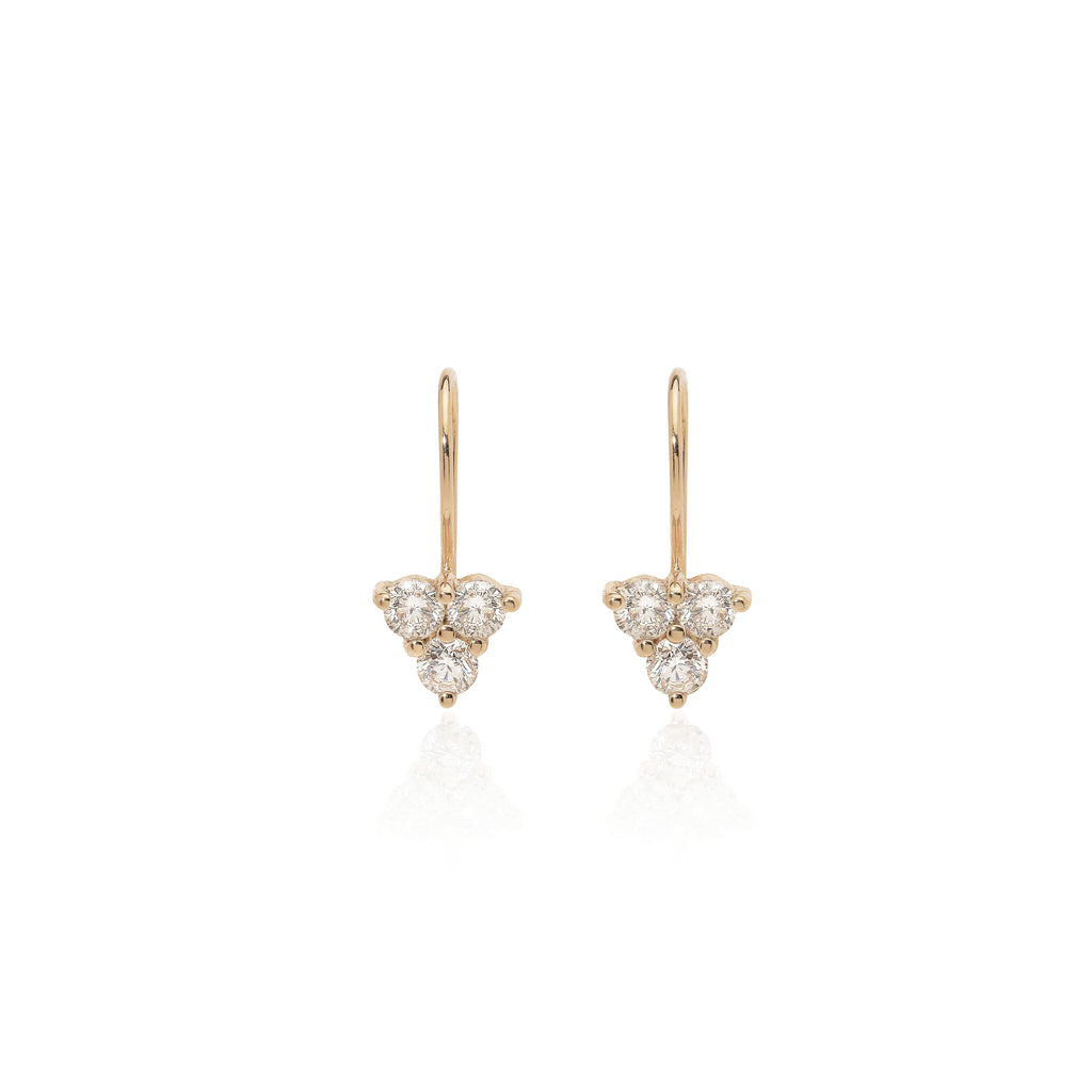 OLYMPIA, Hermes Earrings, Gold