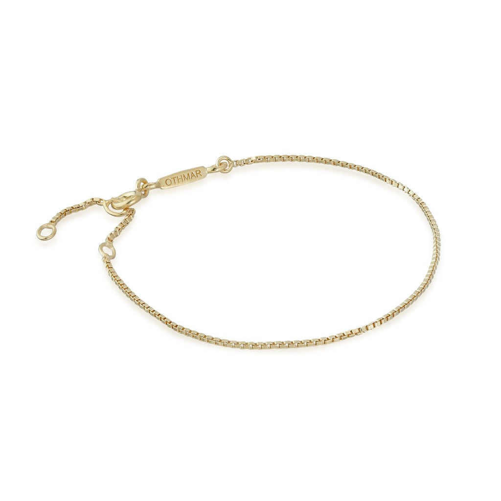 BASIC, Box Bracelet, Gold