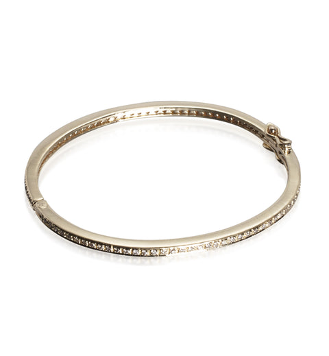 DIAMONDS, 1-Line Bangle, gold
