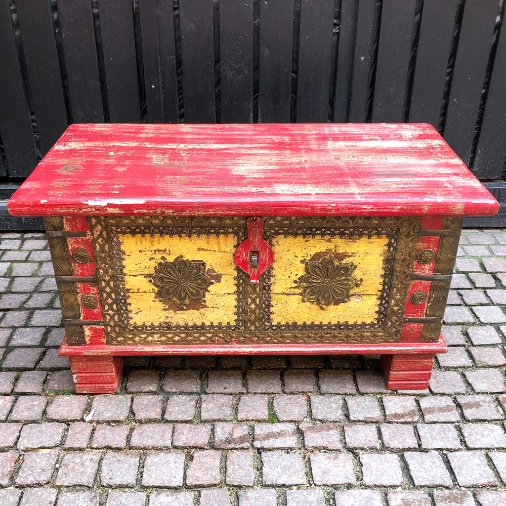 FURNITURE, Wooden Chest 2