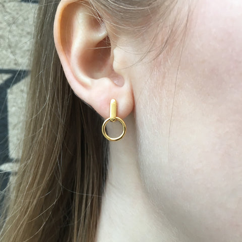 Arctic, Igloo Earrings