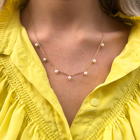 OYSTER, Seafoam Necklace
