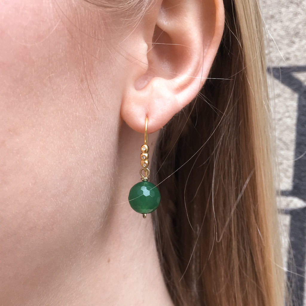DROPS DELIGHT, Green Onyx ball