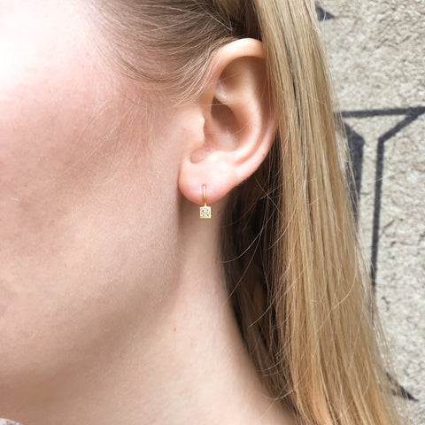 ART DECO GLAM, Clearview Earring